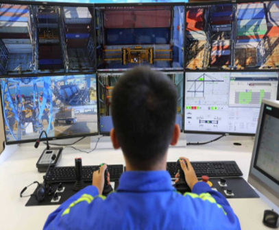 Qingdao Port takes lead in automation