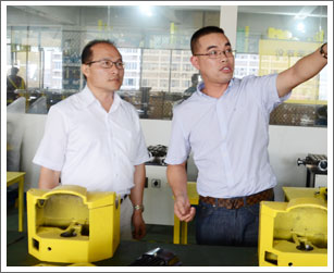 TAIWAN GIN CHAN MACHINERY General Manager Visited Meiri Machine Tool