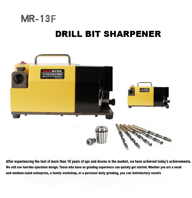 precision drill bit sharpener